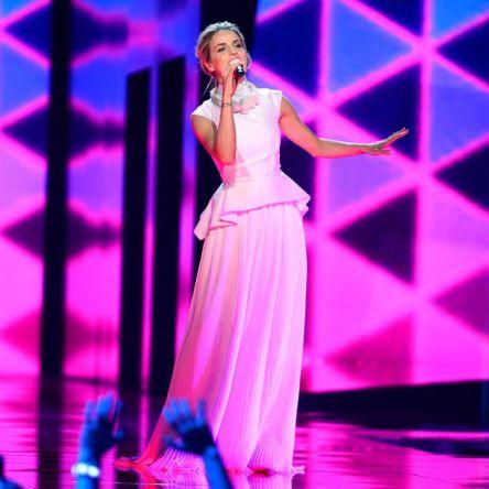 Gabriela Gunčíková representing Czech Republic in semi-final 1 Eurovision 2016