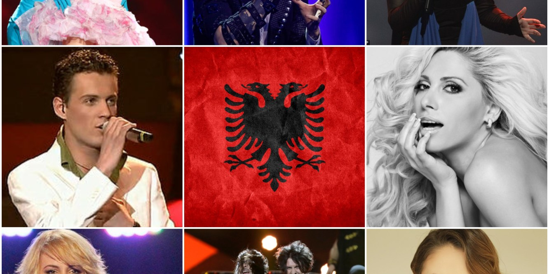 Albania top Eurovision entries