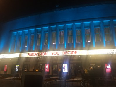 Eurovision: You Decide at Hammersmith Apollo (UK national final 2017)