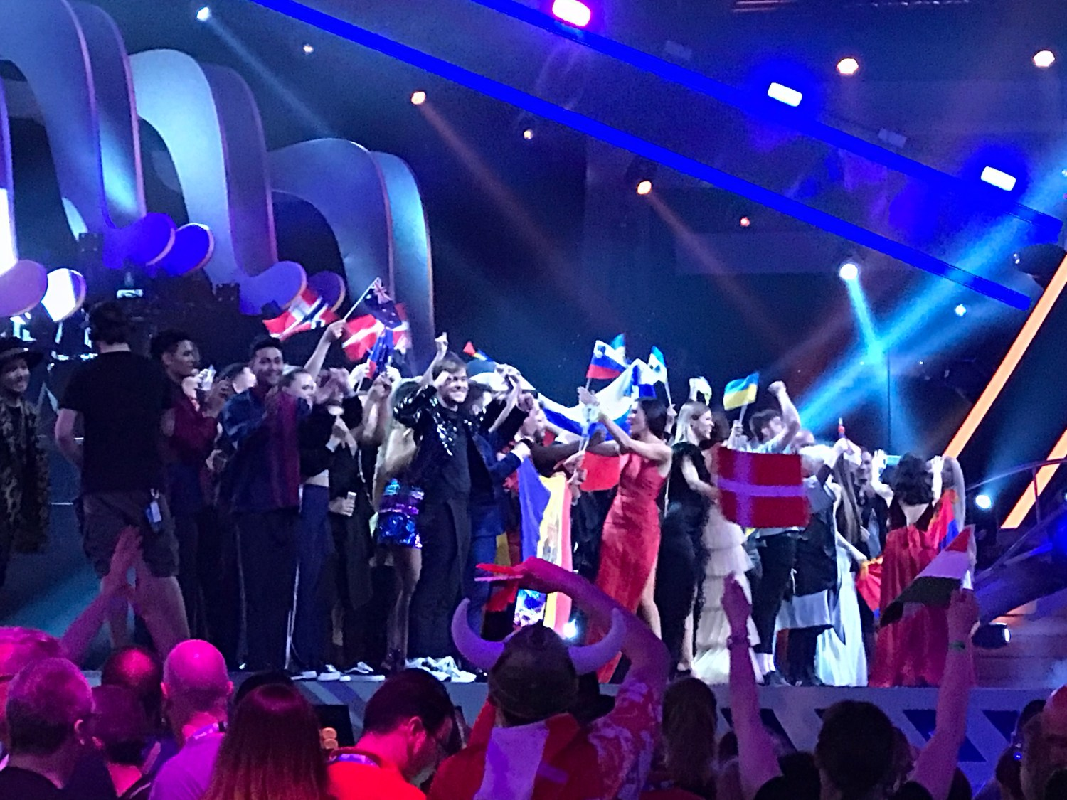 Qualifiers of the second semi final at Eurovision 2018