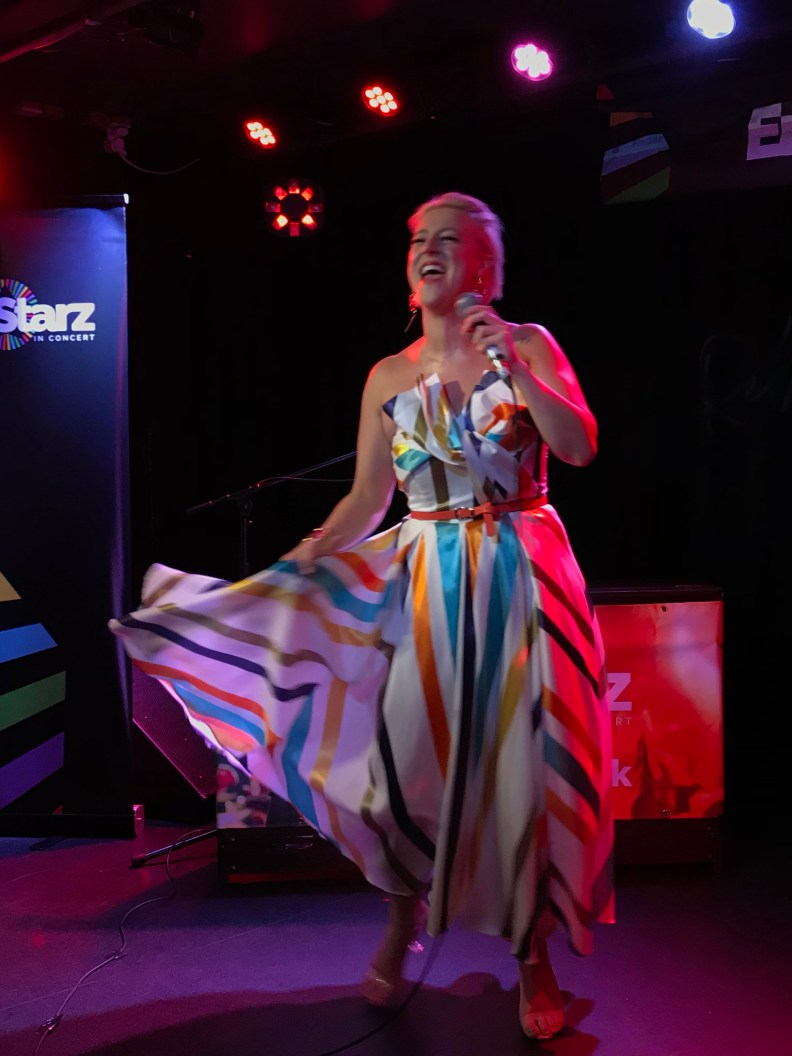 Lindsey Dracass at EuroStarz in Concert 2018