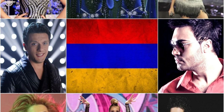 Top Eurovision entries of Armenia