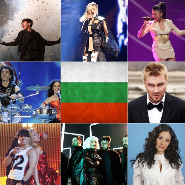 Top Eurovision entries from Bulgaria