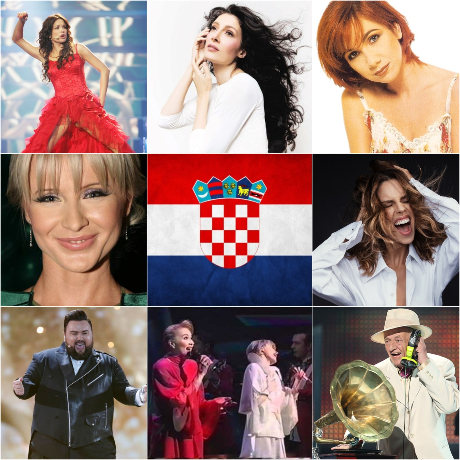 Top Eurovision entries from Croatia