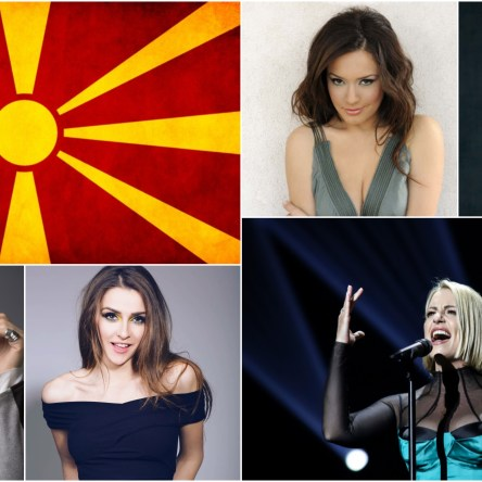 Top 5 Eurovision songs from North Macedonia