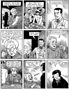 six treasures comic