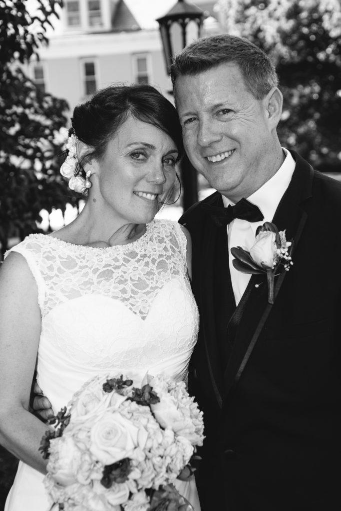 bridal portrait in Erie, PA