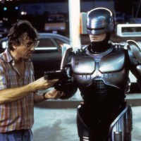 50 behind the scenes photos and a poster gallery from the original Robocop