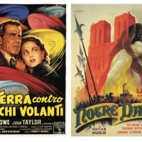 The posters of Italian artist Anselmo Ballester