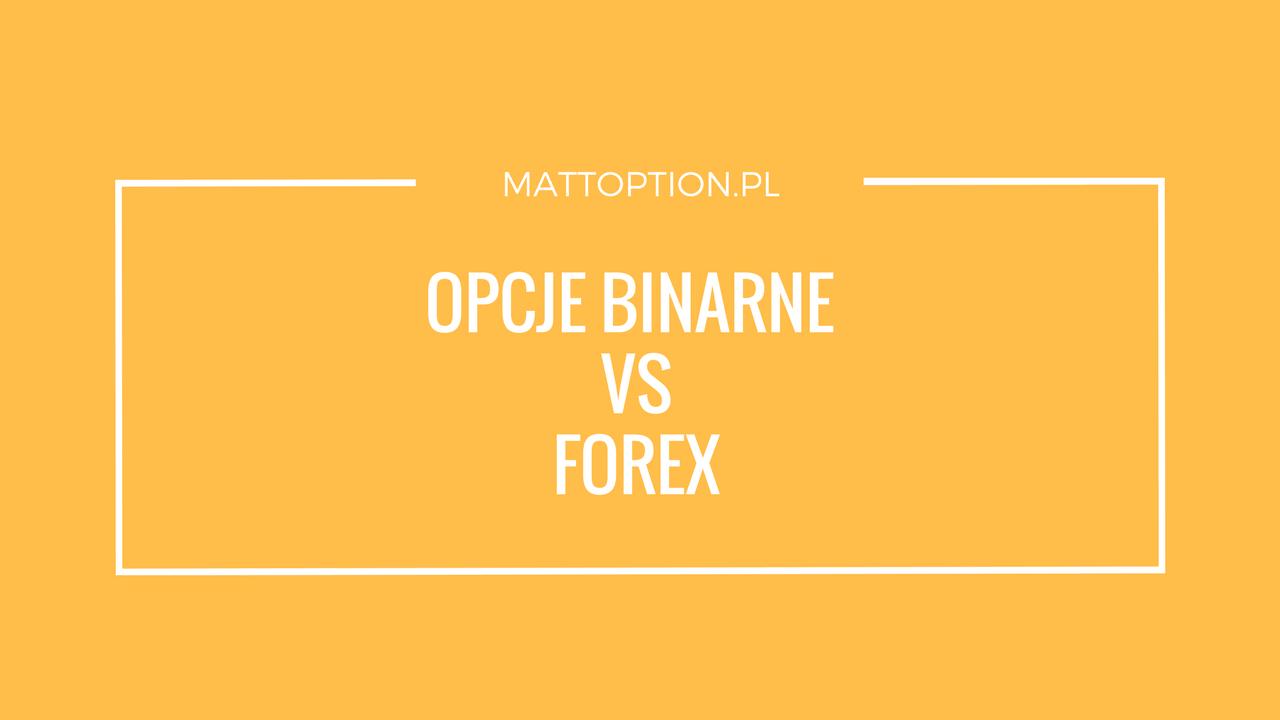 Forex czy opcje binarne – którą formę handlu wybrać?