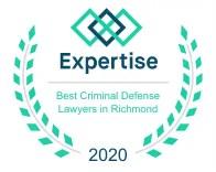 Expertise.com Best Criminal Defense Lawyer in Richmond 2020