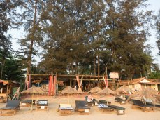 Kranti Yoga Village - nice beach front location