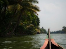 A relaxing day on the backwaters