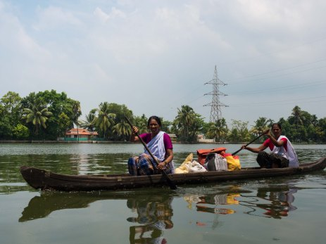 How you shop on the backwaters