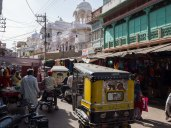 The busy and narrow streets around the Old City, Jodhpur