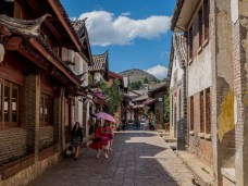 The streets of the Lijiang old town