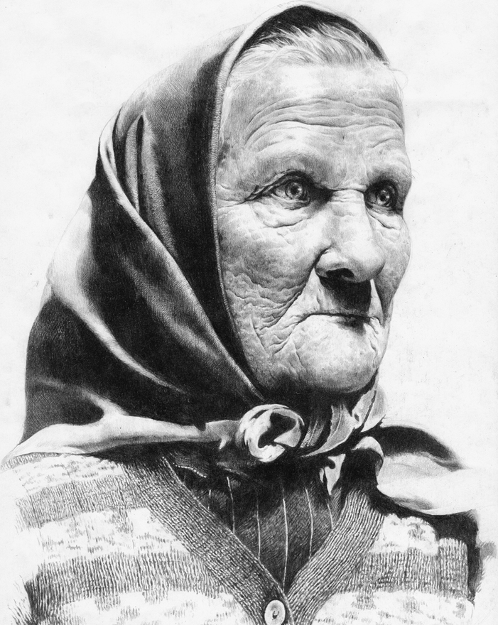"""Wonderful Old Woman"""