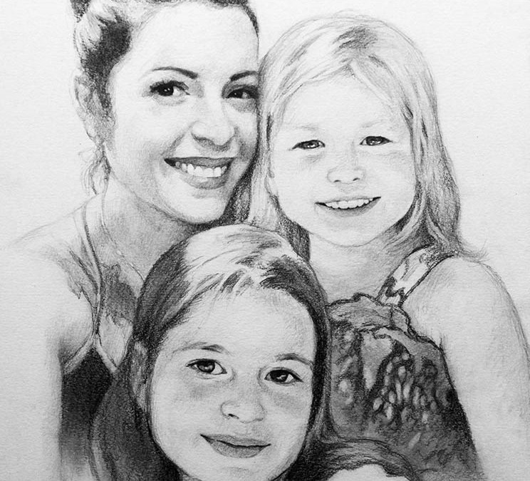 New Drawing and the Beauty of Motherhood.