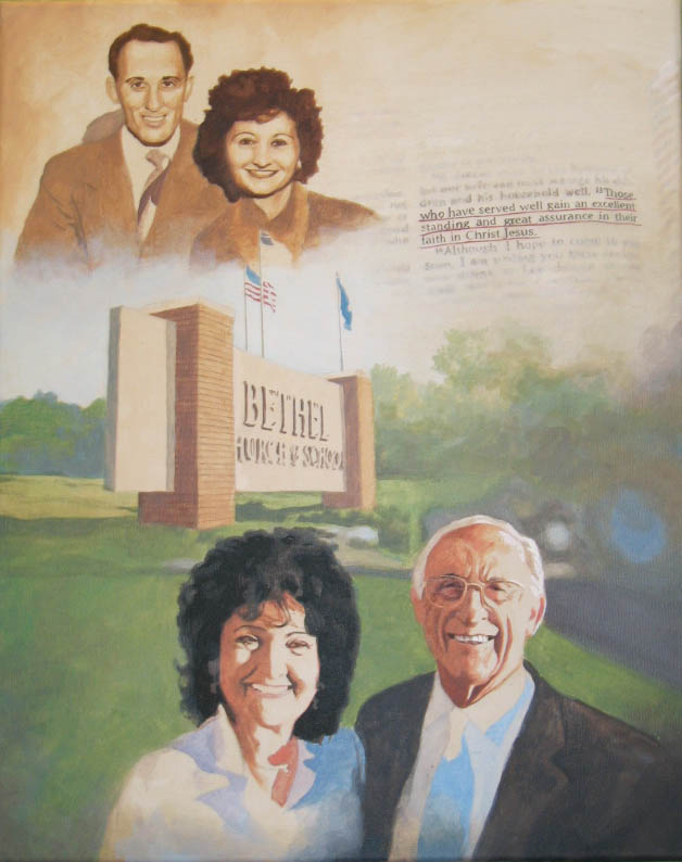 Portrait of Pastor & Mrs. Philip Palser