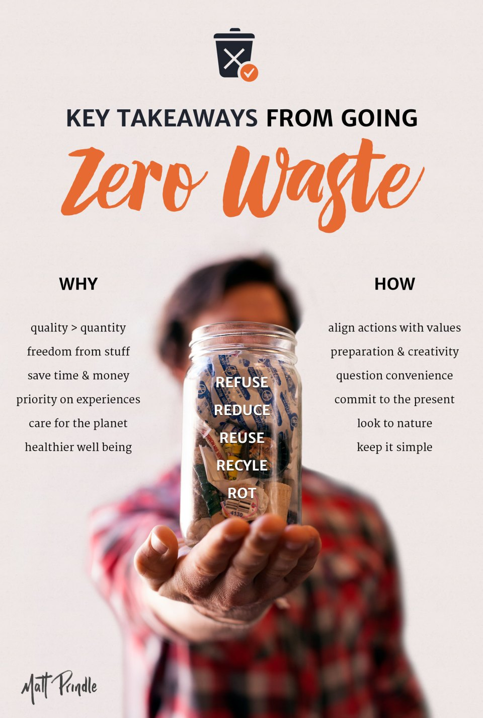 Key Takeaways from Living Zero Waste