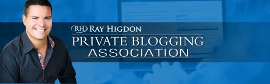 Ray Higdon private blogging Association