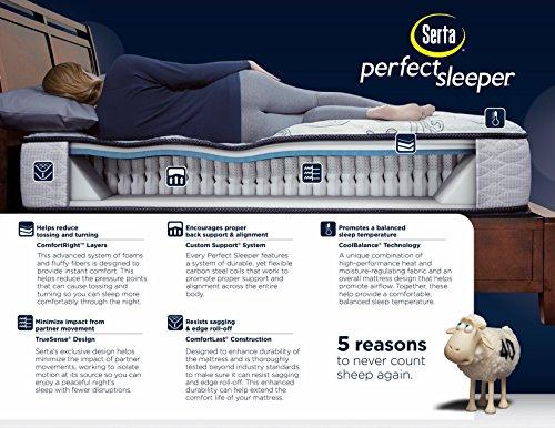 Serta Perfect Sleeper Bradburn Super Pillow Top Mattress
