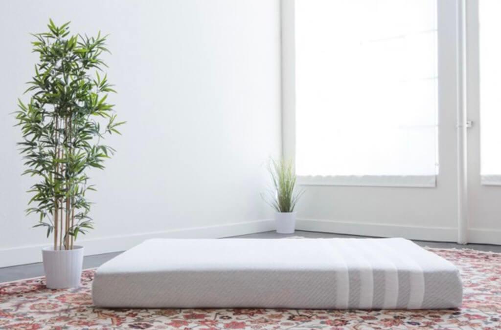 The white mattress