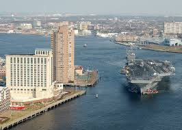 Norfolk, Virginia with USS George Washington