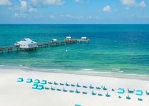 Clearwater, Florida beach