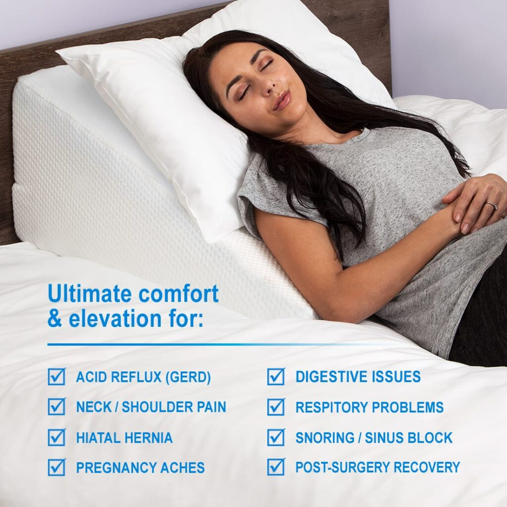 purchase medical foam wedge pillow