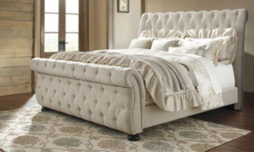 ashley willenburg b643 sleigh bed frame