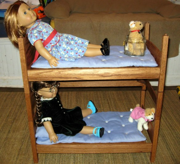 DIY American Girl Doll Triple Bunk Bed Plans Wooden PDF