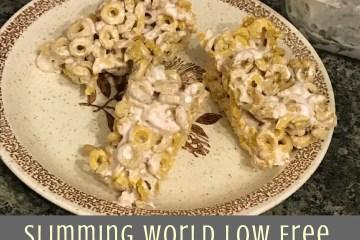 Slimming World Low Syn Marshmallow Treat Bars