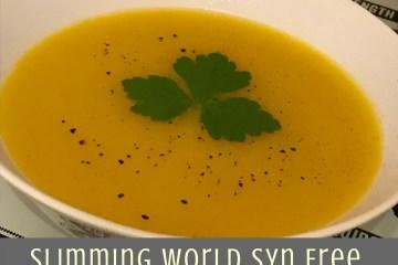 Slimming World Syn Free Butternut Squash Soup