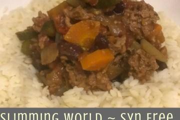 Slimming World - Syn Free - Chilli
