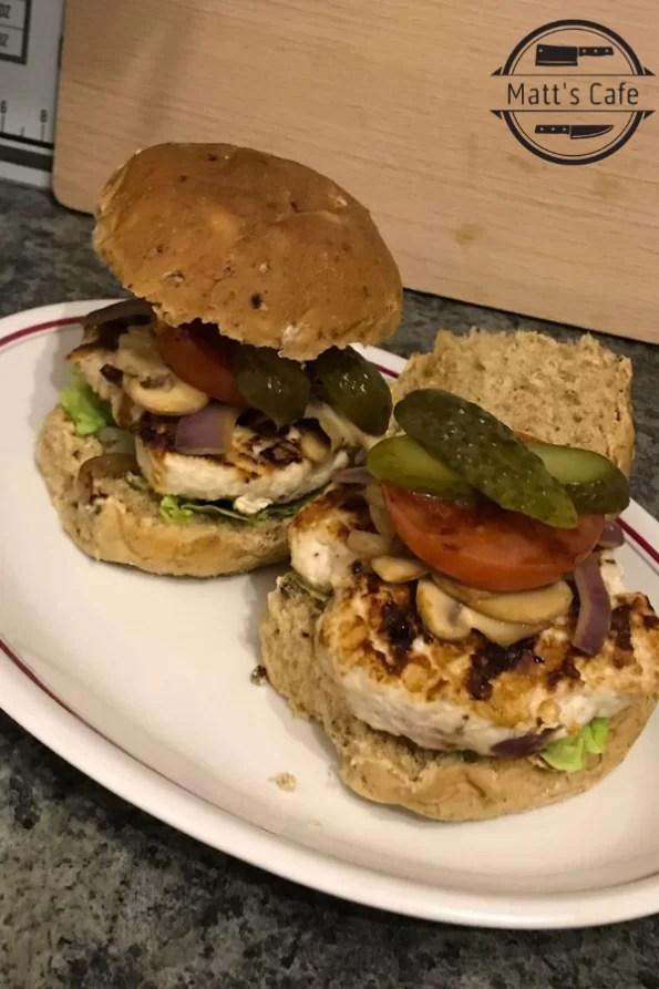 Slimming World Turkey Burger