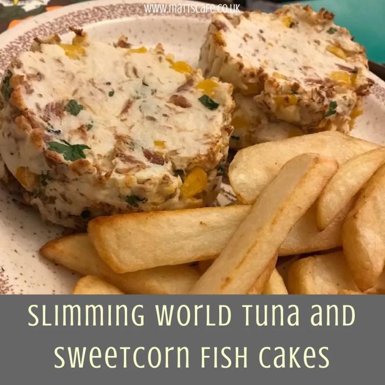 Slimming World Tuna and Sweetcorn Fish Cakes (Syn Free) - insta