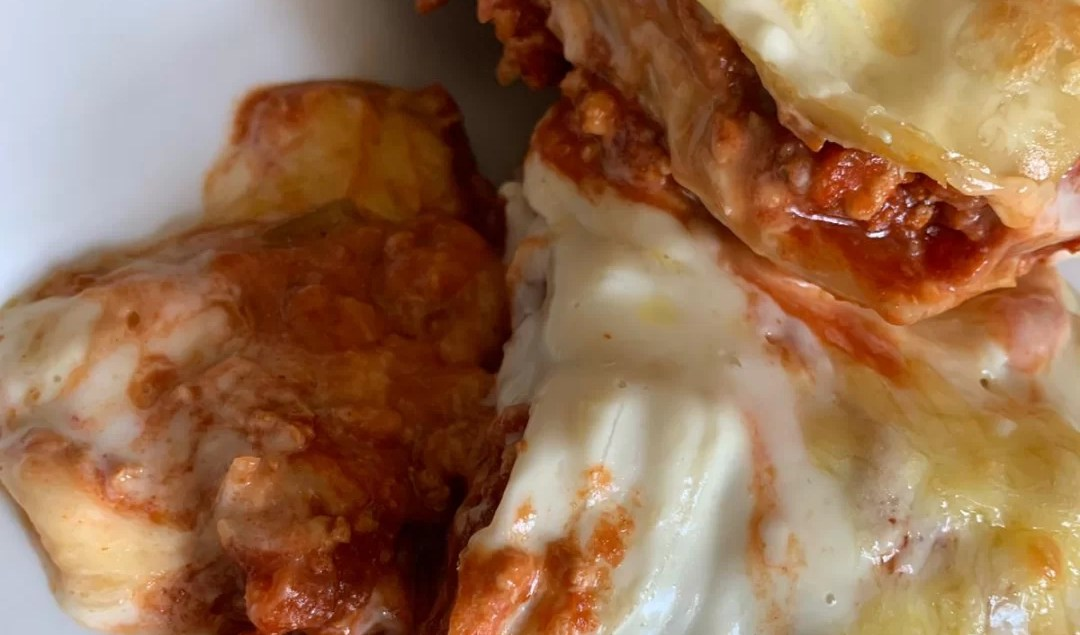 Spicy Chicken Lasagne budget meal