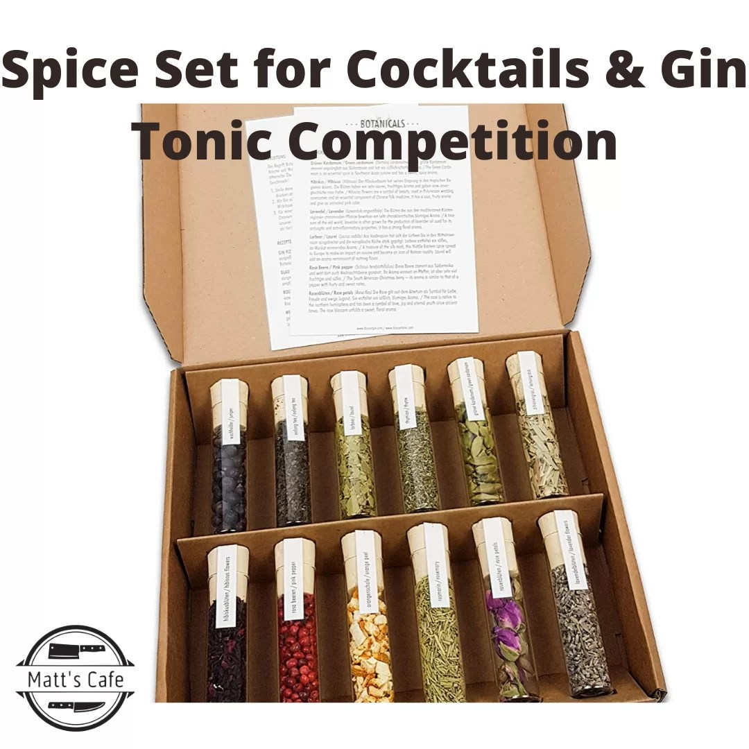 Spice Set for Cocktails & Gin Tonic Competition