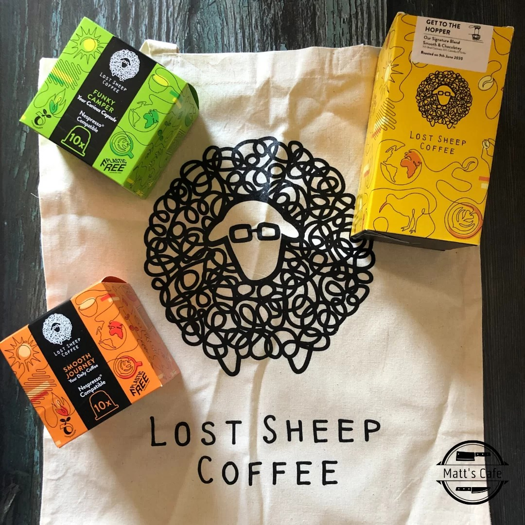 Lost Sheep Coffee Pods and Whole Bean