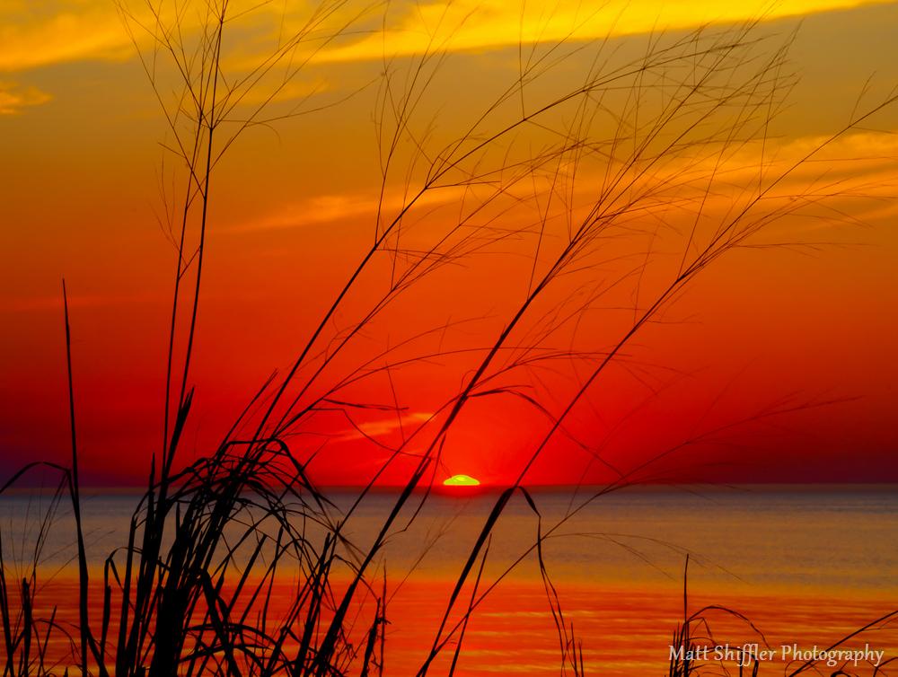 Sunset at Headlands Beach