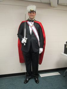 Matt in Fourth Degree Regalia
