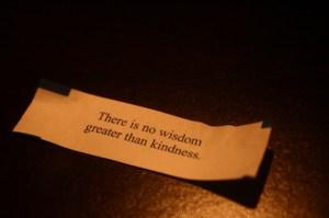 kindness fortune
