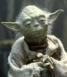 Yoda fight hate with kindness