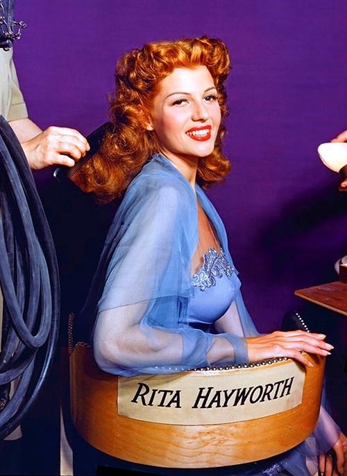 Rita Hayworth In Living Colour Matthew S Island Of