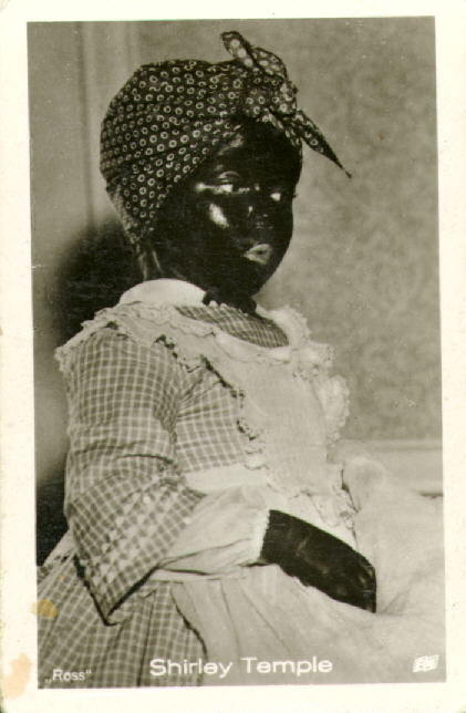 Shirley Temple In Blackface Oh So Very Very Wrong
