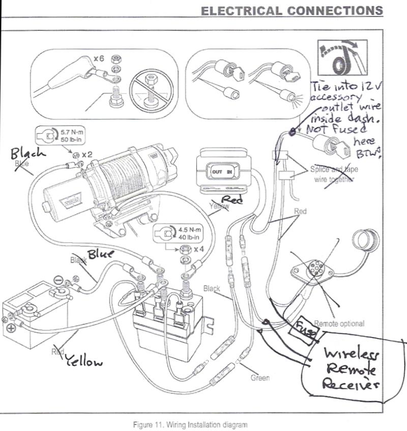 Badlands Winch Problems | Wiring Source