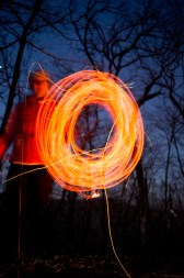 Some more experimentation with light painting.