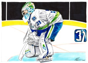 Illustration of Eddie Lack
