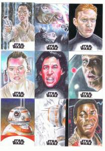 topps star wars journey to the last jedi sketch cards by matt stewart page 2